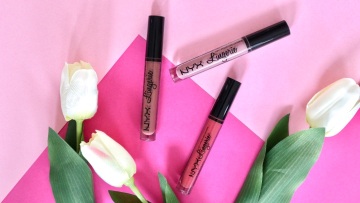 MY 3 NEWEST ADDITIONS TO NYX LIPLINGERIE