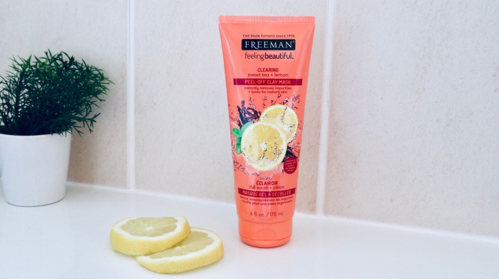 5 REASONS WHY YOU SHOULD TRY FREEMAN FACIAL MASK SWEET TEA & LEMON PEEL AWAY
